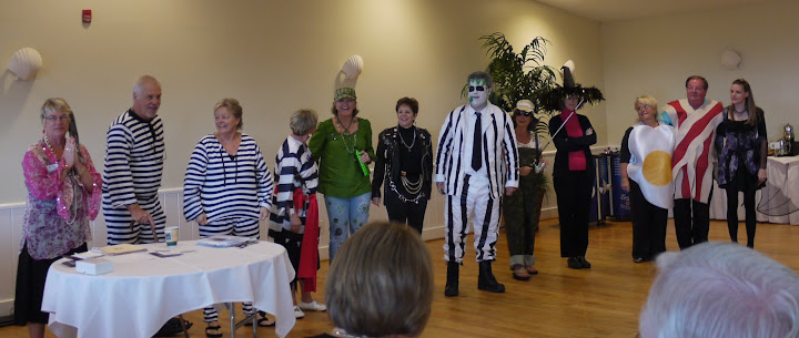 Bill Gallagher teaches at the Crystal Coast for some Halloween Fun - group1