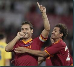 Totti comeback i cupfinalen