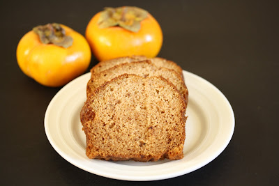 photo of slices of Persimmon Bread on a plate