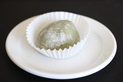 photo of one Matcha Green Tea Mochi