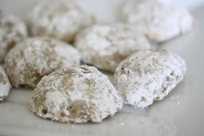 close-up photo of Pecan Russian Tea Cakes