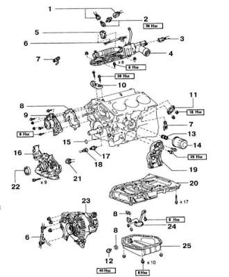 lexus engine diagram lexus rx300 engine diagram Lexus RX 350