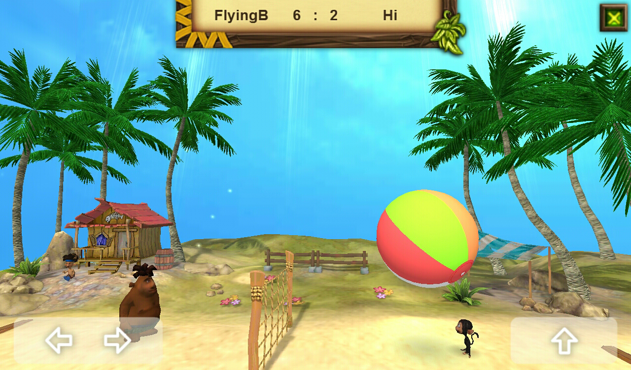 Volleyball Island - screenshot