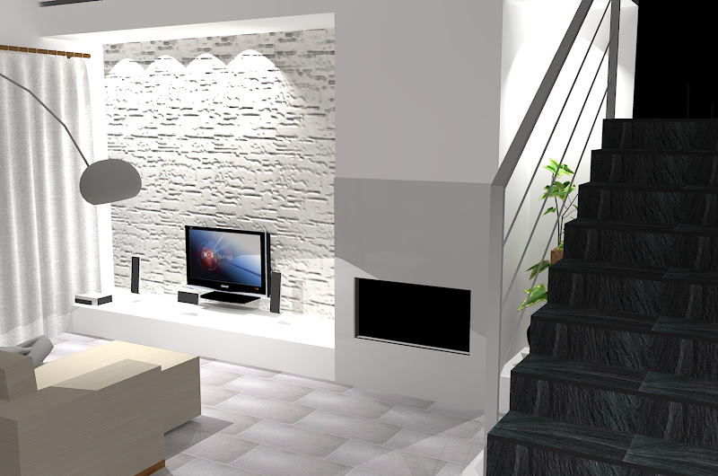 Forum zawa living fireplace for Parete in pietra con tv