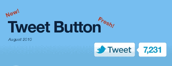 tweet button of twitter