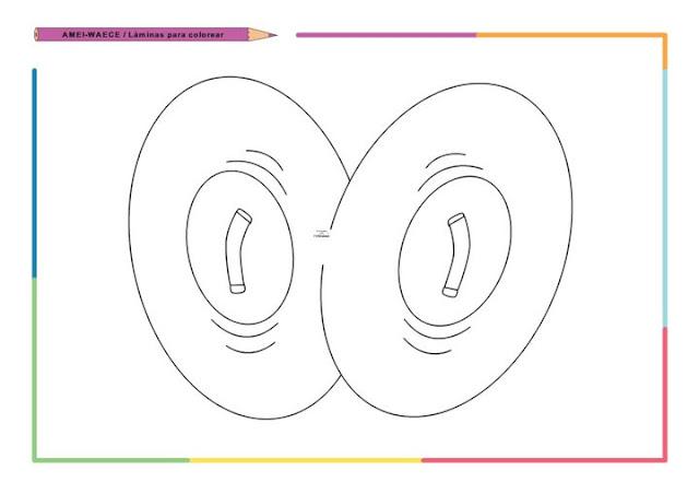 Dibujos De Letras Musicales Para Colorear: DIBUJOS DE INSTRUMENTOS MUSICALES PARA COLOREAR Y PINTAR