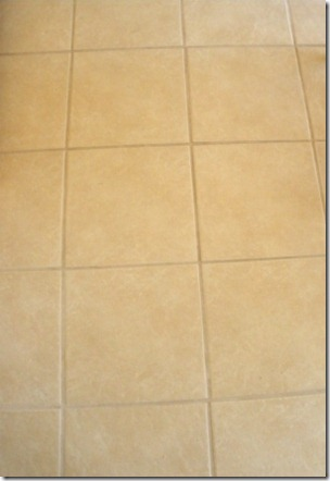 Cleaning Tile Grout | Gluten-Free Homemaker