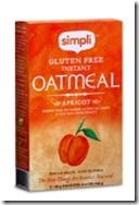 Simpli apricot oatmeal