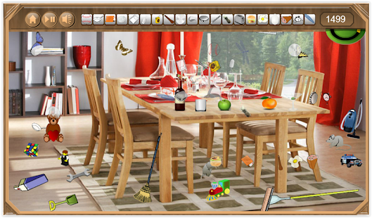 Dining room hidden objects android apps on google play for Llwyn y brain dining room