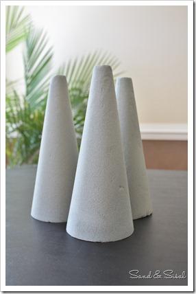 Floral foam cones