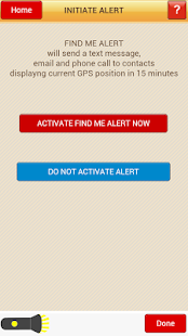 Find Me -- Tornado Safety App- screenshot thumbnail