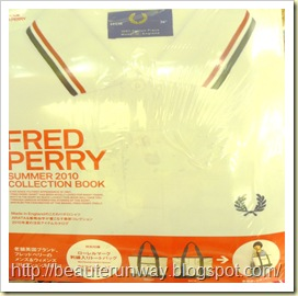 Fred Perry Summer 2010 collection emook