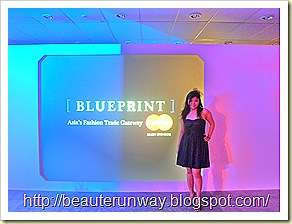 blueprint beaute runway