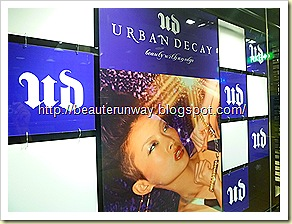 urban decay sephora singapore  ngee ann city beaute runway