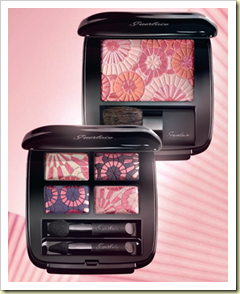 Guerlain spring 2010 cherry blossom blusher and eye shadow beaute runway