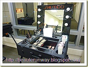 Shiseido Spring make up dressing table