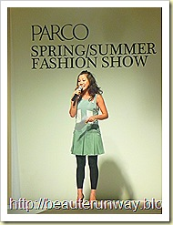parco marina bay fashion show