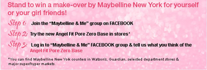 maybelline pore0contest
