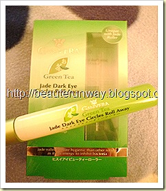 Ginvera Green Tea Jade Dark Eye Circles Roll Away