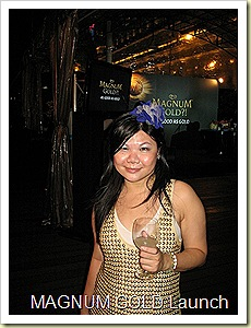 Magnum Gold Launch Party