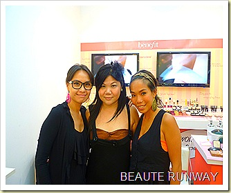 Benefit Wow your Brows at Sephora Ion Orchard with Maki Ho, Wing Wu Beaute Runway