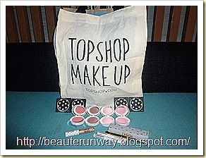 Topshop Makeup Mini Haul at ION Orchard Singapore