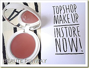 Topshop Makeup blusher - Nutmeg