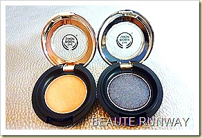 The Body Shop Limited Edition Autumn Collection Eye Color in Golden Peach and Midnight Blue