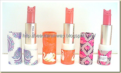 Paul & Joe Cat Lipsticks Autumn 2010