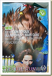 The Body Shop Ec-conscious Rainforest Hair Care Launch 01