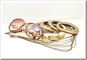 Golden Leopard (Glasses SGD15.90, Ring9.90, Earring SGD7.90, Bracelets 11.90, Necklace SGD13.90)