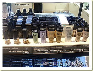 tony moly bb base, foundation