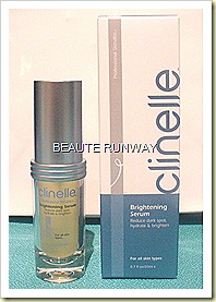 Clinelle brightening serum