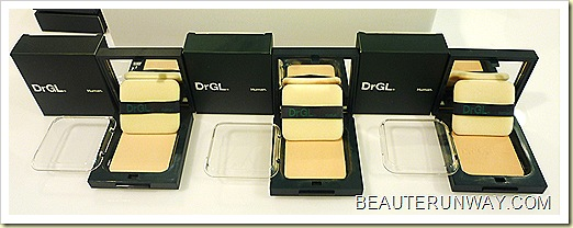 DRGL Pressed Powder Fair Medium Tan Shades