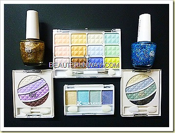 Nanairo Eyeshadows  Japan Nail polish Liang Court SIngapore
