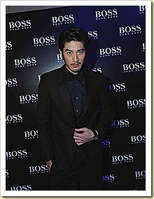 Godfrey Gao at Men's Fashion Week Singapore 2011