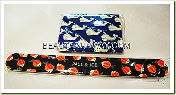 Paul & Joe Sumer 2011 Blue Horizon Emery Board and blotting paper refills