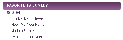 People's Choice Awards 2011 Nominees - glee