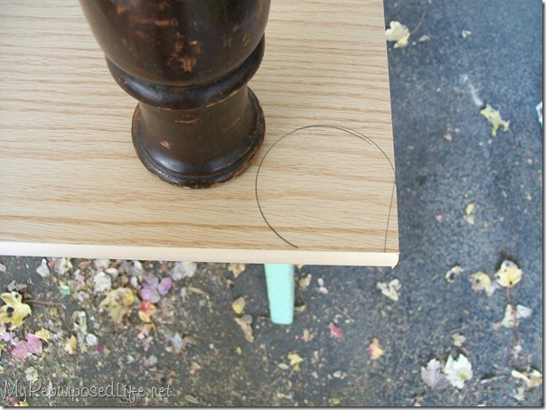 how to add legs to a cabinet
