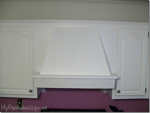 White (oak) Cabinets. Spray Paint Hinges