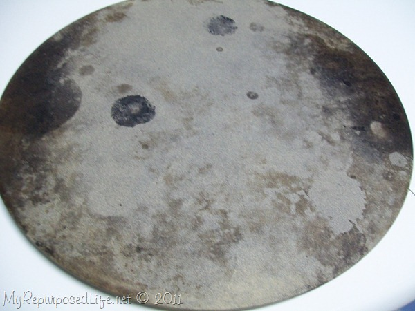 clean stoneware pan Pampered Chef Pizza Stone - My Repurposed Life®
