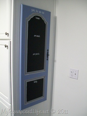 repurposed door into chalkboard (10)