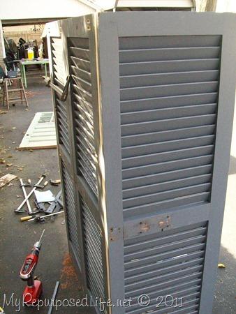 shutters repurposed bookshelf (8)