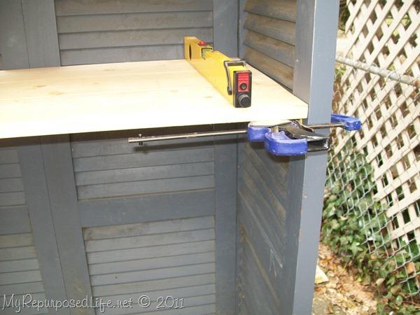 shutters repurposed bookshelf (32)