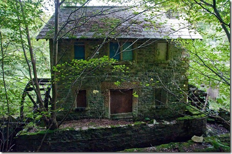 disused and derelict watermill