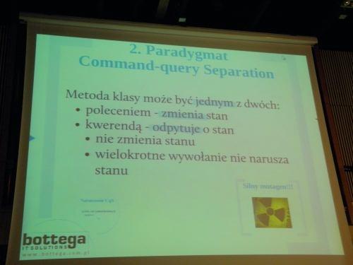 Prezentacja o CQRS