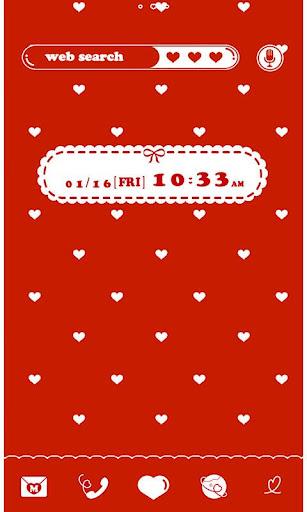 ★FREE THEMES★Polka Hearts