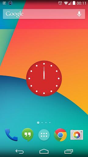 Rose Clock Widget