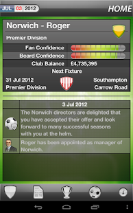 MYFC Manager 2013 - Soccer - screenshot thumbnail