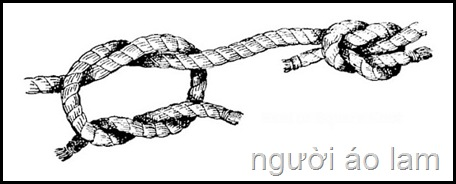 Cách làm gút (nút) dẹp – reef (square) knots